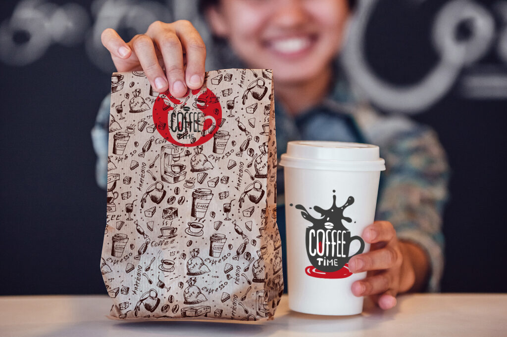 Разработка лого для кофейни